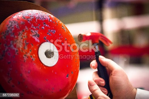 Boxing Ring Bell with hammer.