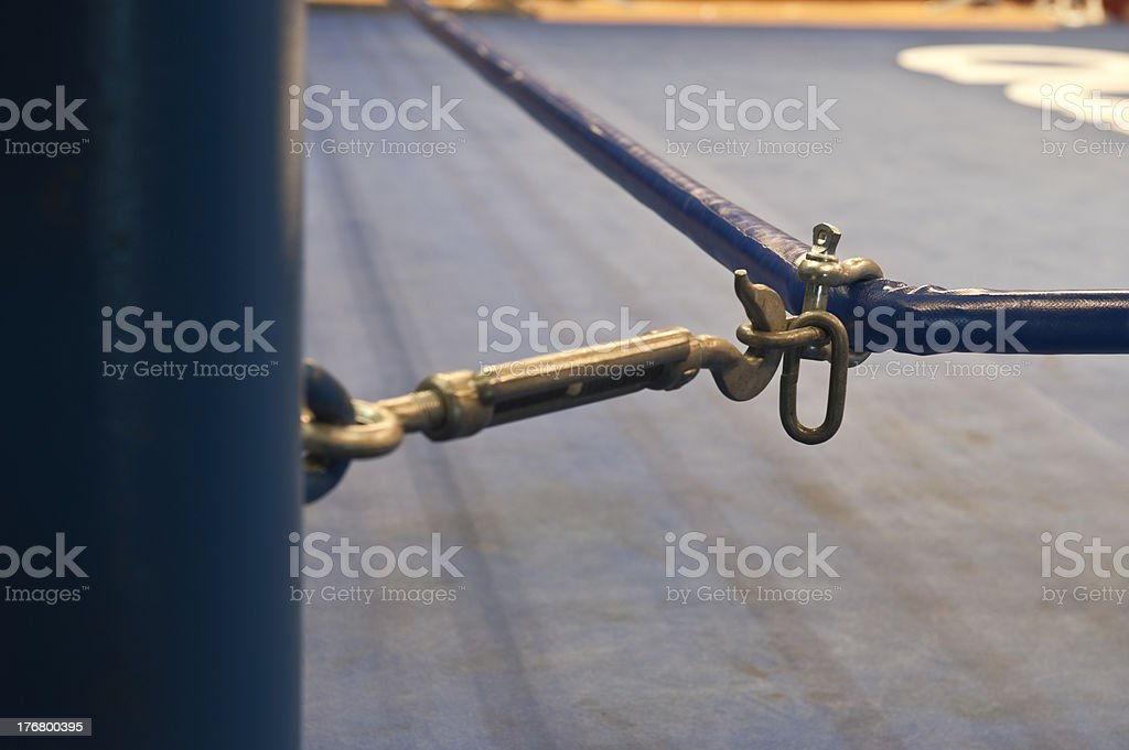 Boxing Ring royalty-free stock photo