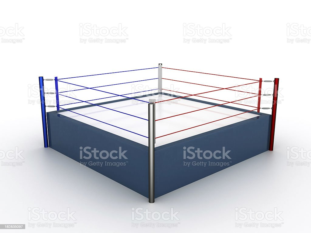 ring de boxeo - foto de stock