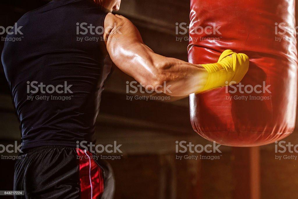 Boxing Workout stock photo