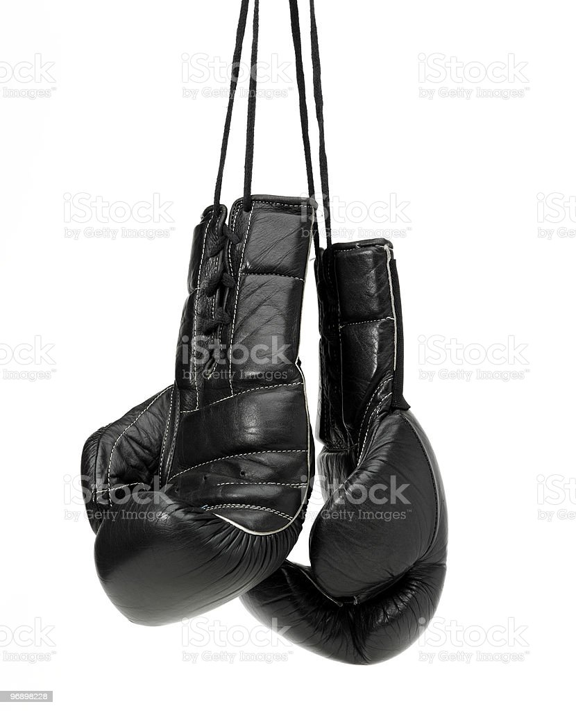 Boxing-blowes royalty-free stock photo