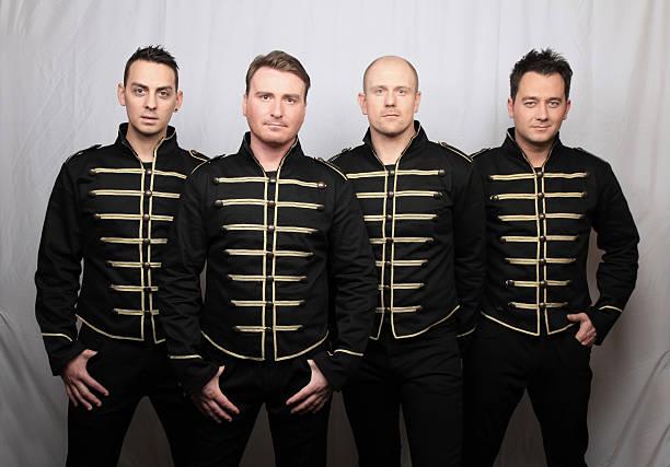 Boy Band Group stock photo