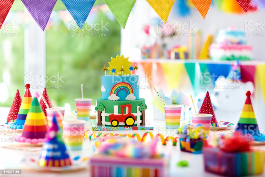 Pleasing Boy Birthday Cake For Little Child Kids Party Stock Photo Funny Birthday Cards Online Inifofree Goldxyz