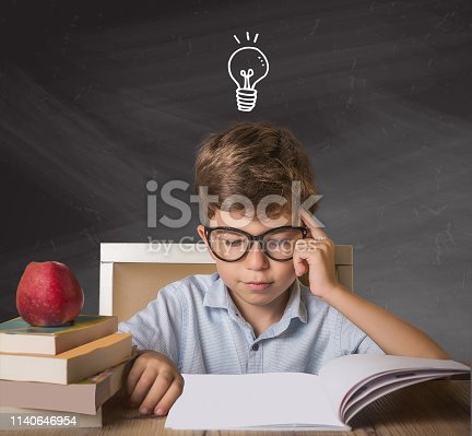 Boy home work Inspirational idea