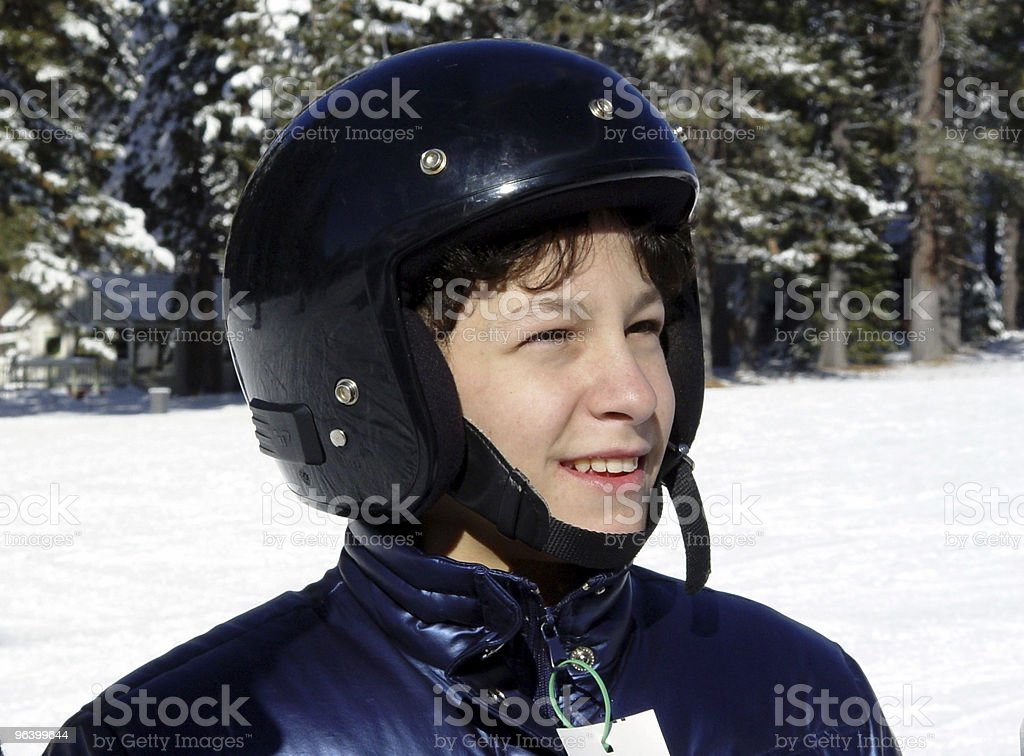 Boy in a helmet - Royalty-free Adolescence Stock Photo