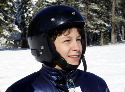 Boy In A Helmet Stock Photo - Download Image Now