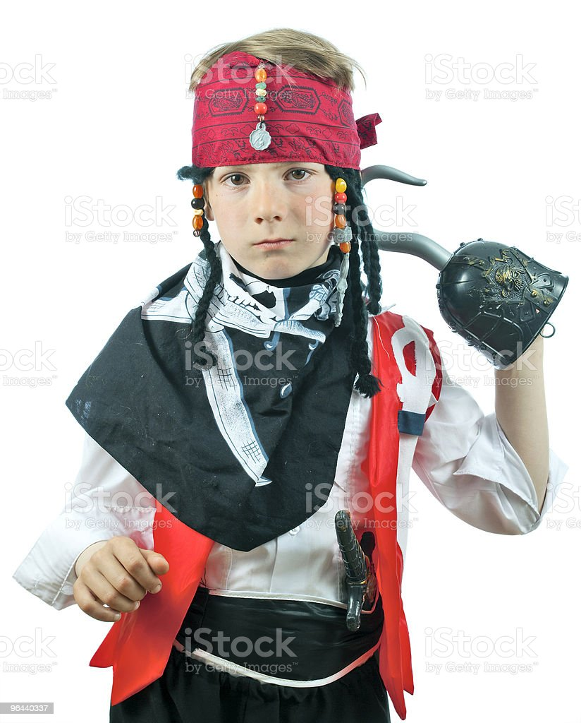 Boy in a pirate costume - Royalty-free Fotografie Stockfoto