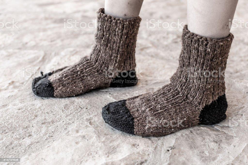 Handmade Knitted WOOL SOCKS