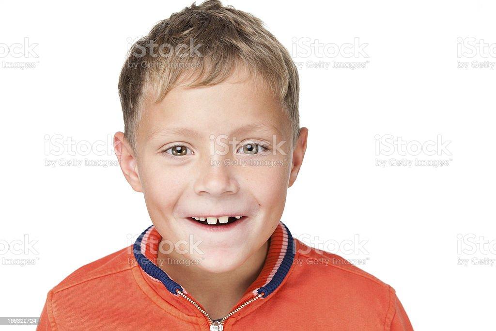 Junge Lachen – Foto