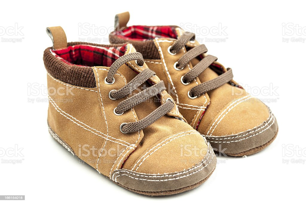 Boy Little Shoes royalty-free stock photo