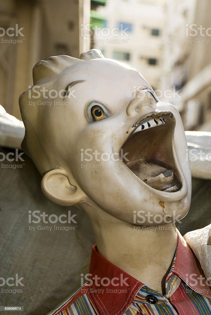 Boy s Mannequin foto de stock libre de derechos