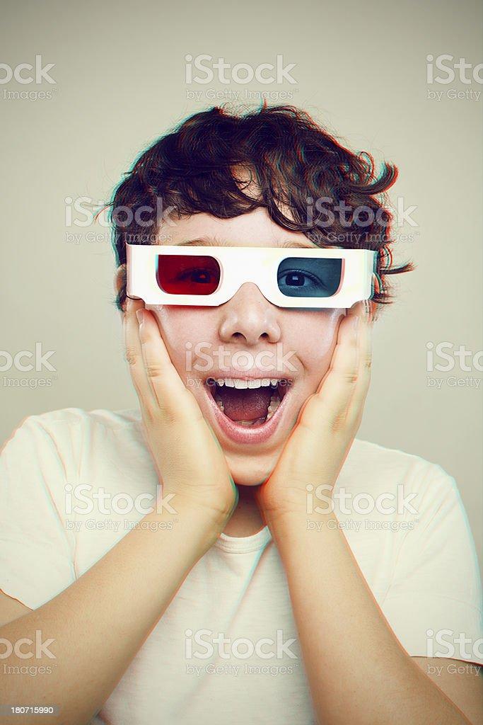 3D Boy royalty-free stock photo