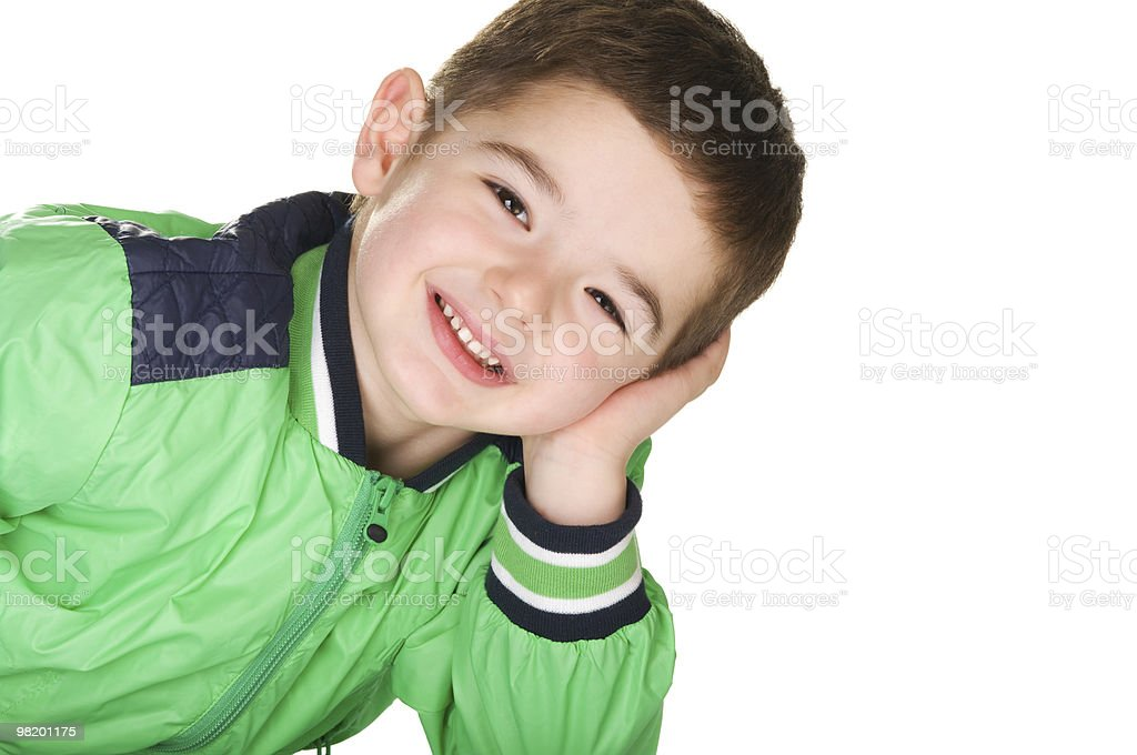 Boy royalty-free stock photo