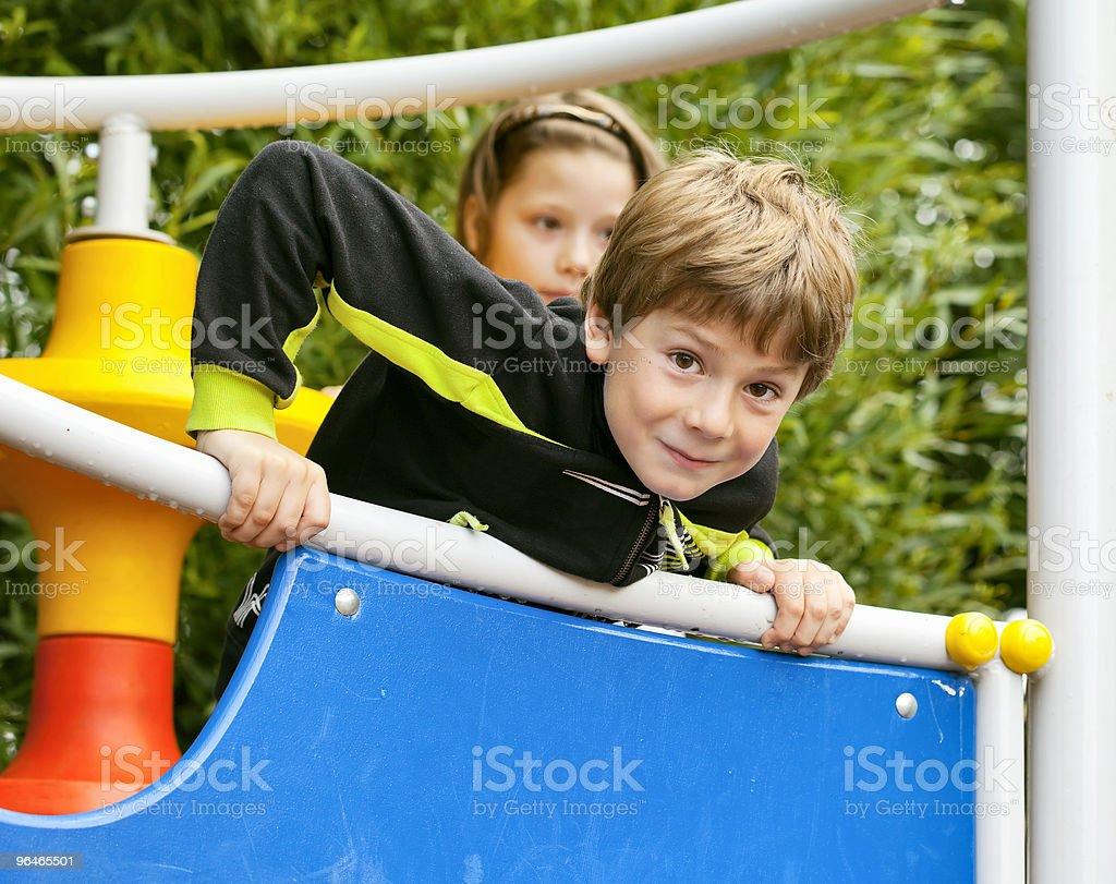Boy play royalty-free stock photo