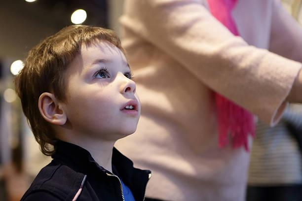 Retrato de niño - foto de stock