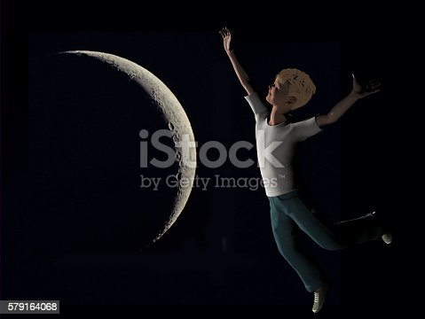 478539432istockphoto boy reaching for the moon 579164068
