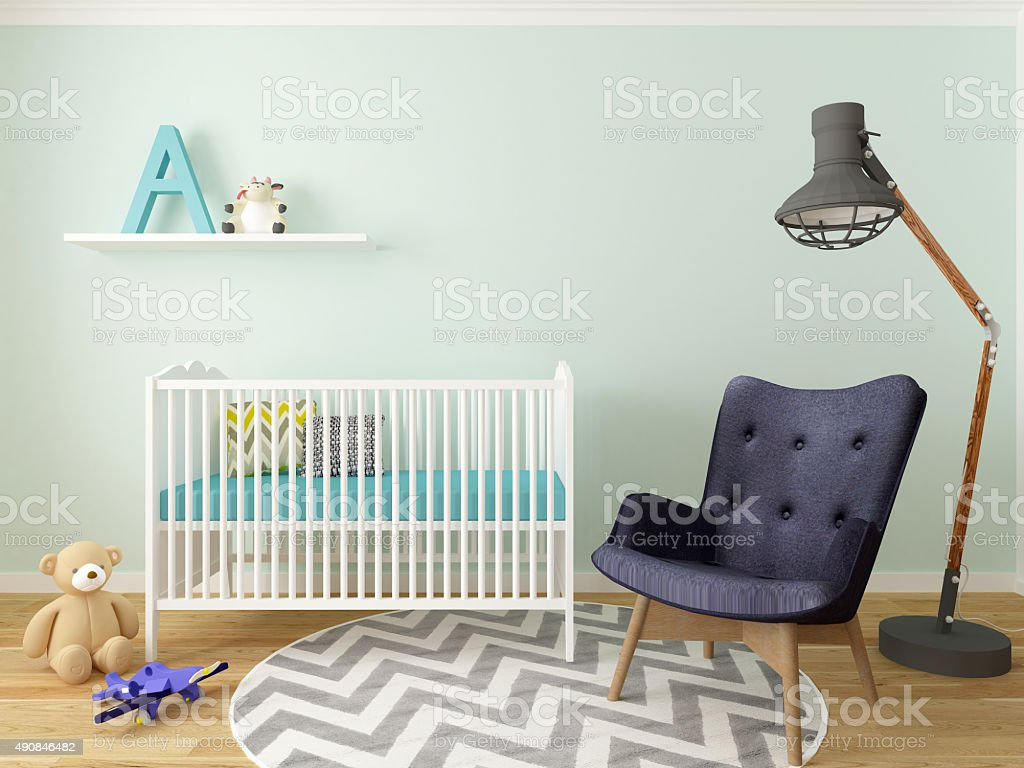 boy room stock photo
