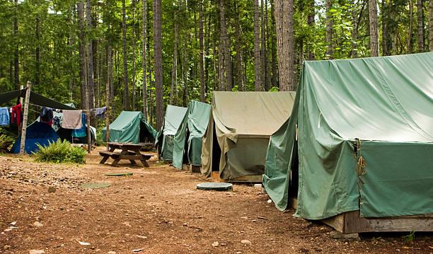 campamento de boy scout - boy scout fotografías e imágenes de stock