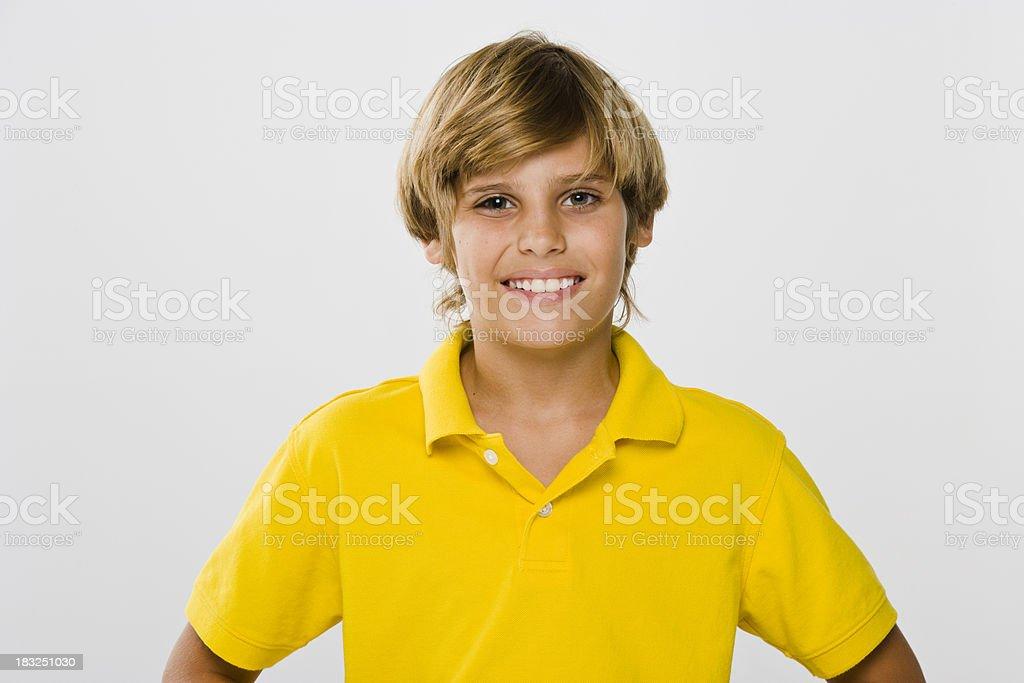 Boy Smiling stock photo