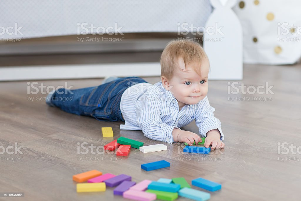 boy twins playing Lizenzfreies stock-foto
