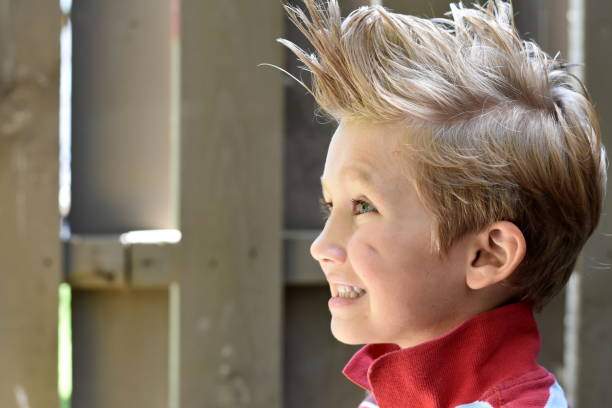 116 Hairstyle Childhood Little Boys Mohawk Stock Photos Pictures Royalty Free Images Istock