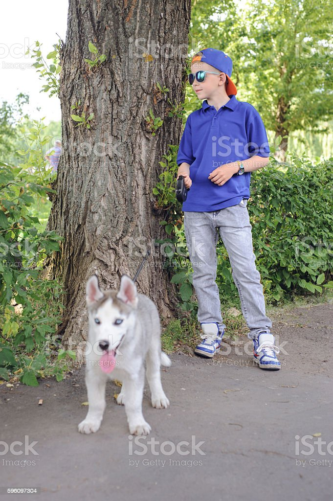 Boy with mother royalty-free stock photo