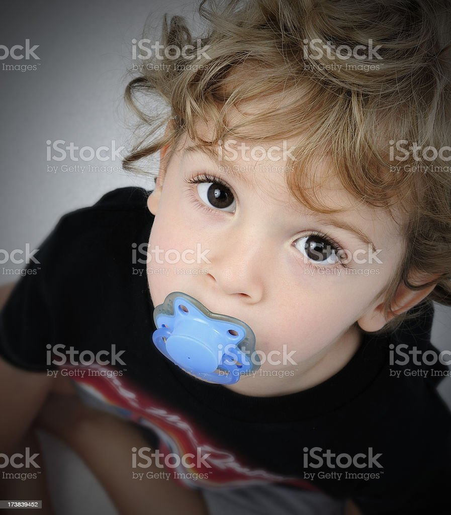 boy with pacifier portrait 1 stock photo more pictures of 2 3