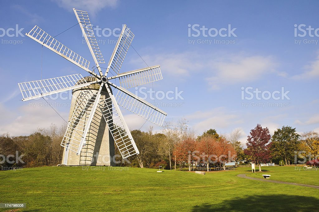 Boyd's Smock Mill stock photo