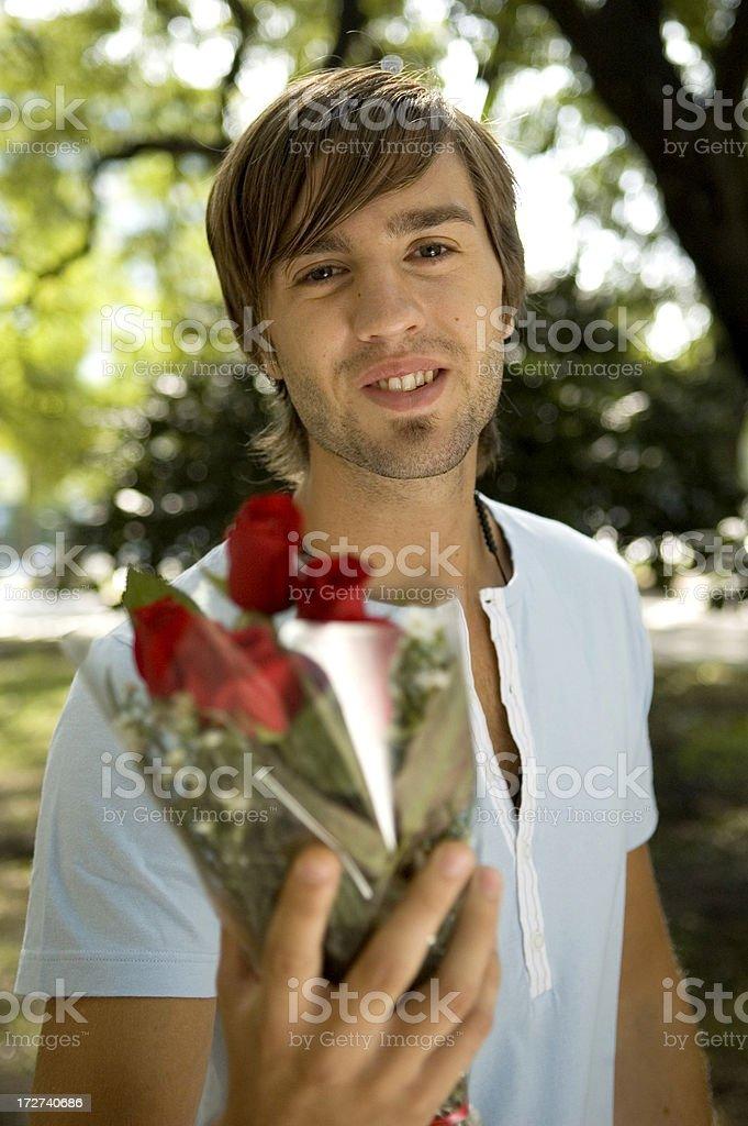 Boyfriend royalty-free stock photo