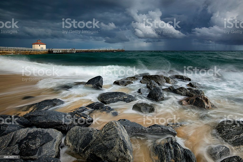 Boynton Beach Inlet stock photo