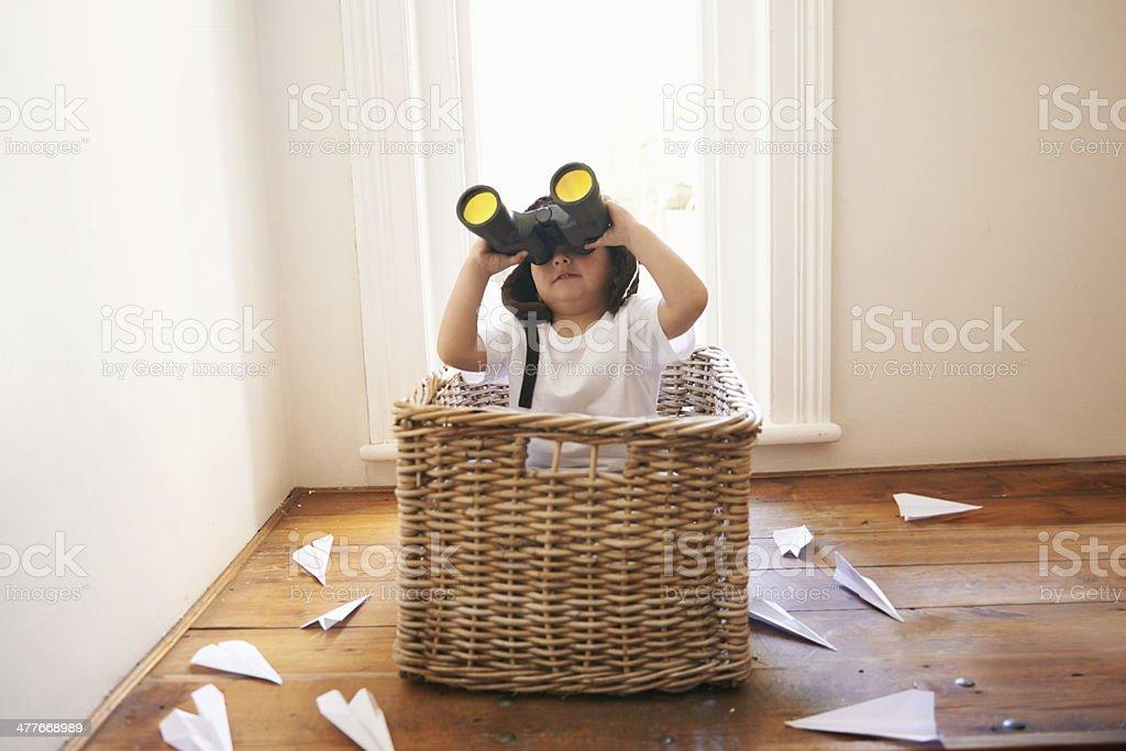 Boys and their toys stock photo