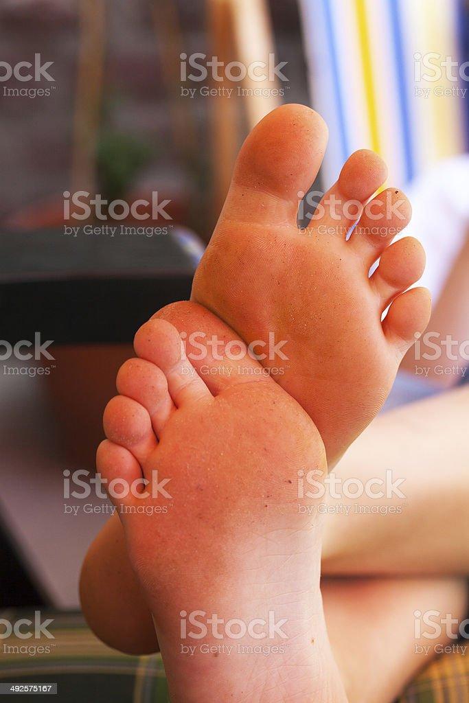 Feet boy About