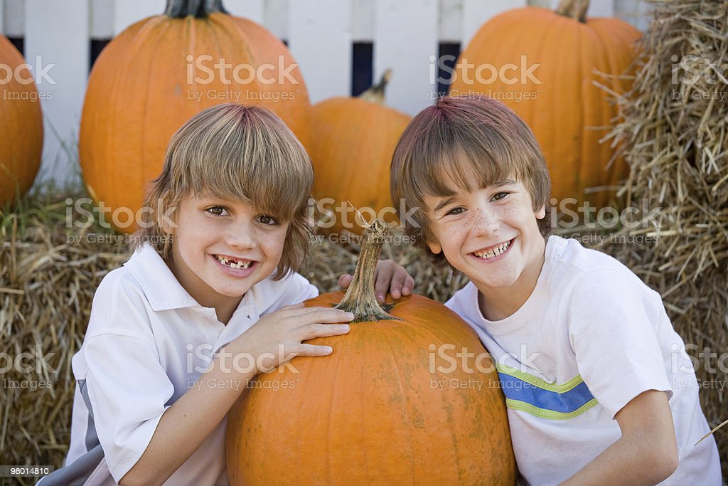 Boys Playing royalty-free stock photo