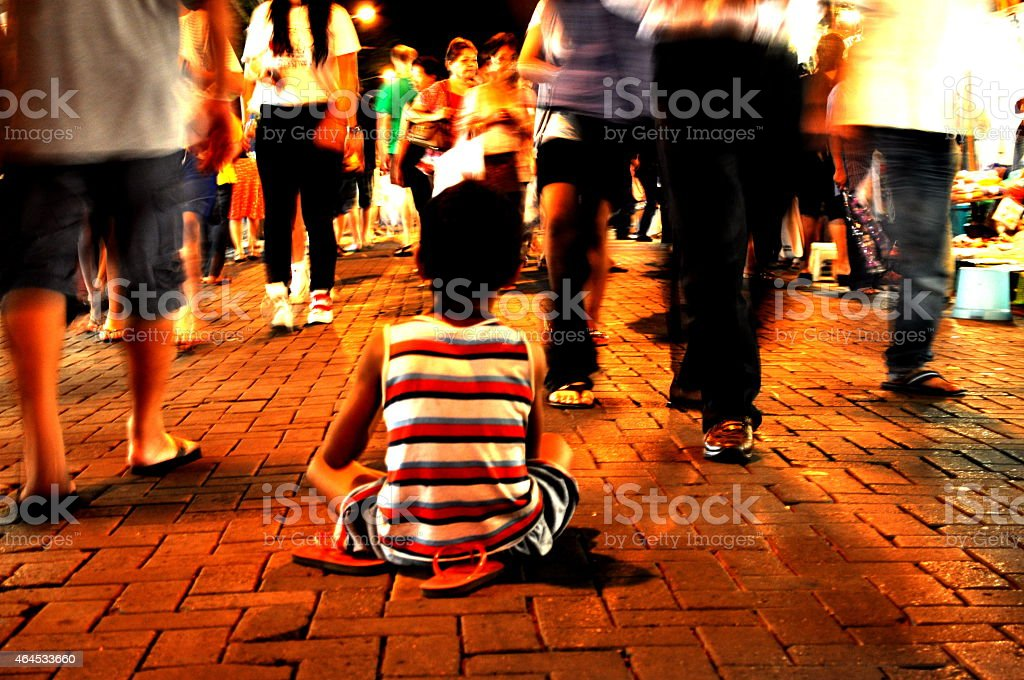 Boys Street Life stock photo