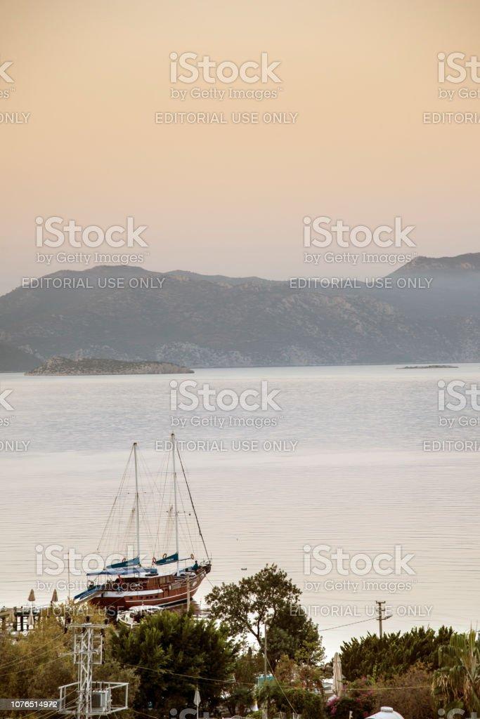Bozburun-Muğla, Türkiye stok fotoğrafı