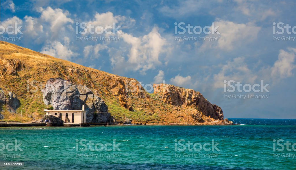 Bozcaada Island stock photo