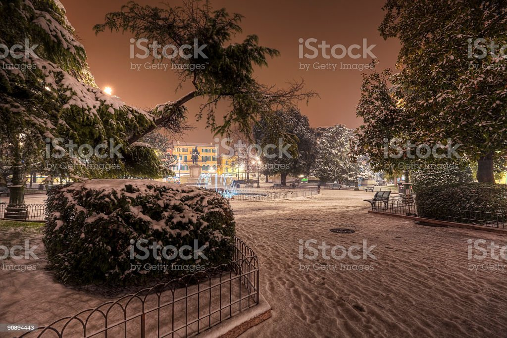 piazza Bra in Verona royalty-free stock photo