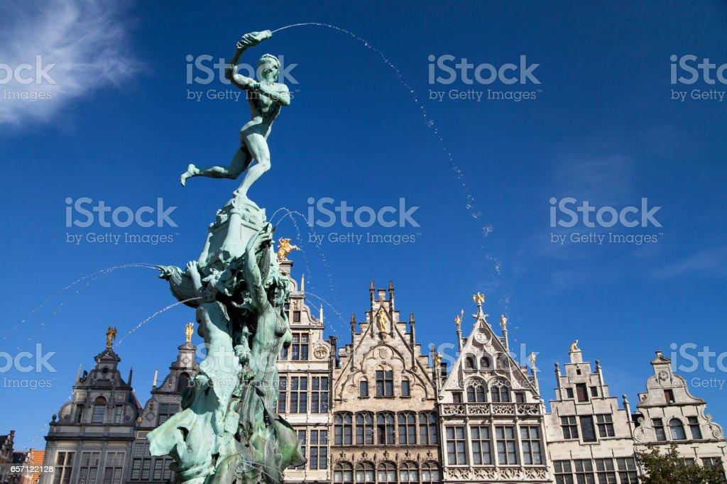 Fontaine de Brabo Anvers - Photo