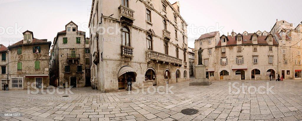 Brace Radica Square, Split, Croatia royalty-free stock photo
