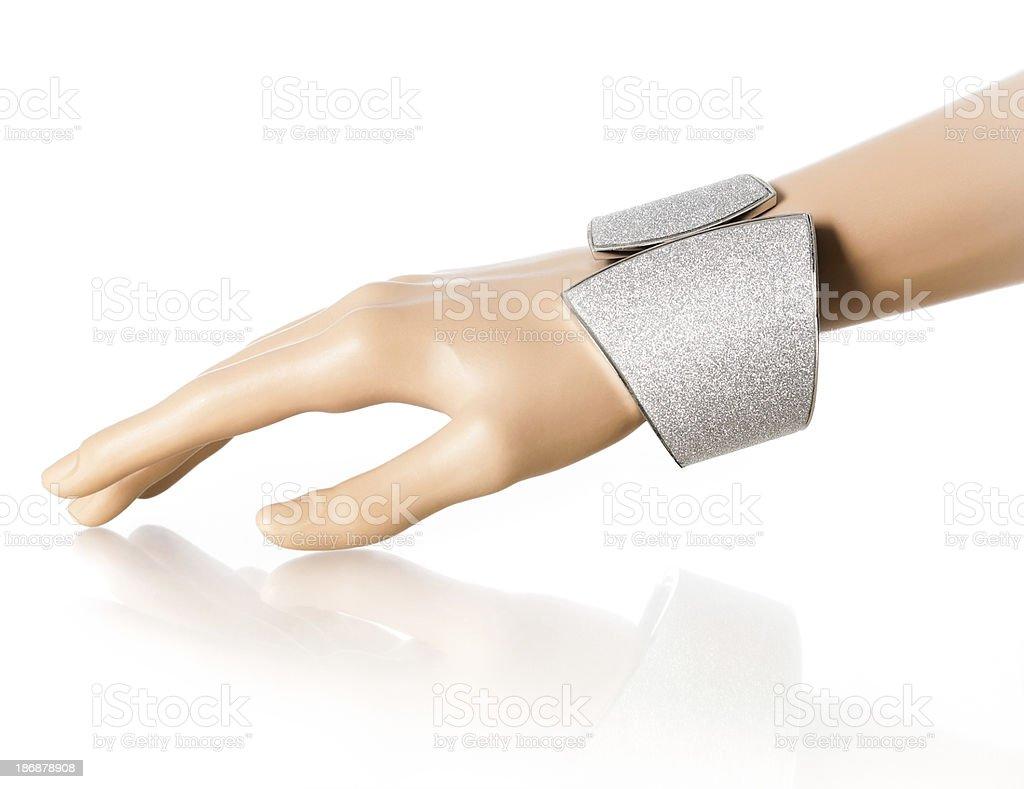 Bracelet Display Hand royalty-free stock photo