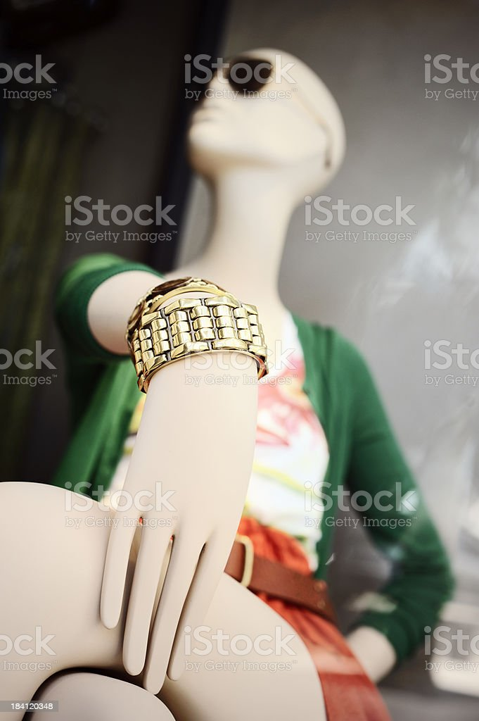Bracelet Dummy royalty-free stock photo