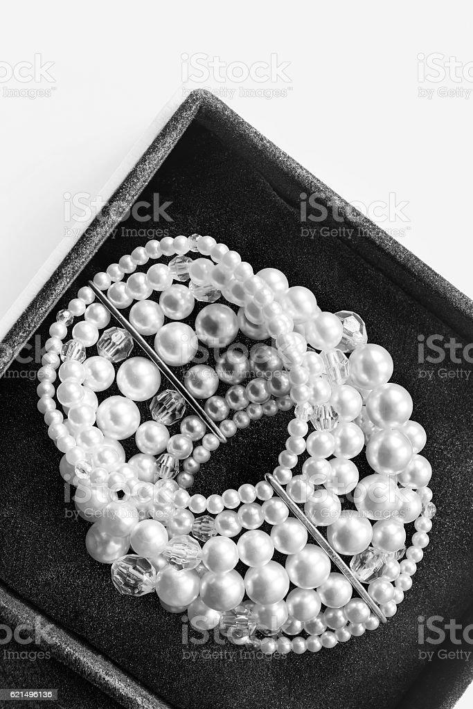 Bracelet in a box Lizenzfreies stock-foto