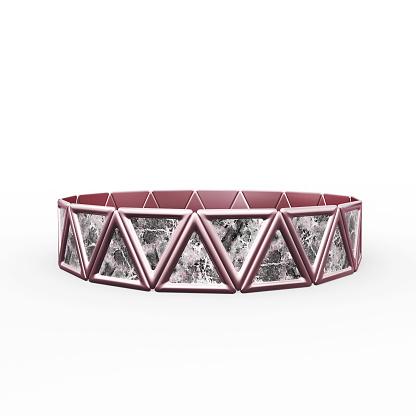 1149145638 istock photo Bracelet Triangles design 1148043292
