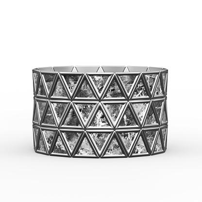 istock Bracelet Triangles design 1148043320