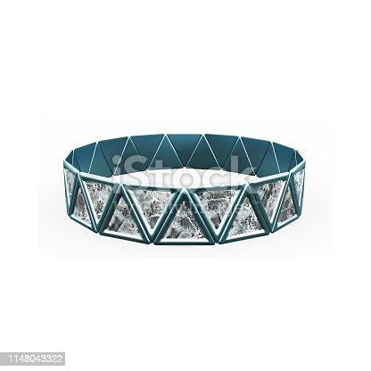 1149145638istockphoto Bracelet Triangles design 1148043322