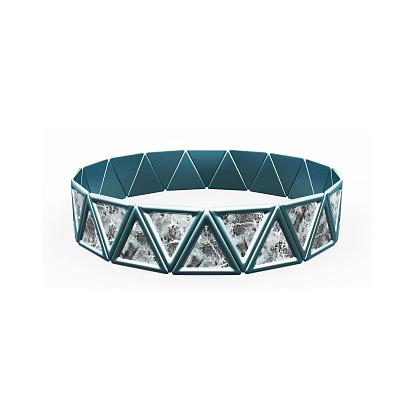 istock Bracelet Triangles design 1148043322