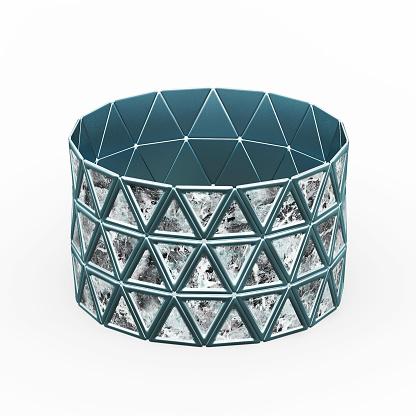 1149145638 istock photo Bracelet Triangles design 1148043324