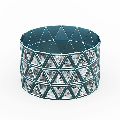 istock Bracelet Triangles design 1148043324