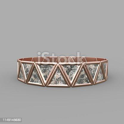 1149145638istockphoto Bracelet Triangles design 1149145630