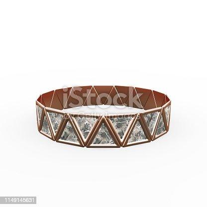 1149145638istockphoto Bracelet Triangles design 1149145631
